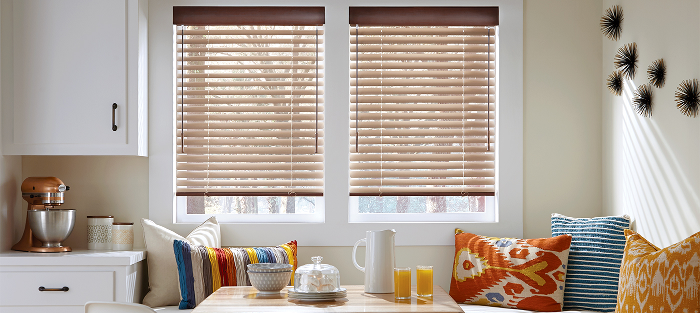 Horizontal Blinds Venetian Wood Aluminum Hunter Douglas
