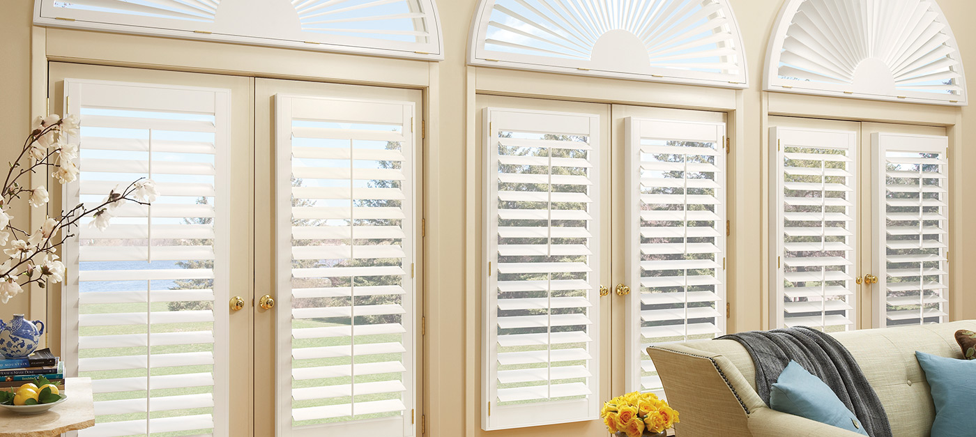Newstyle 174 Hybrid Shutters Hunter Douglas