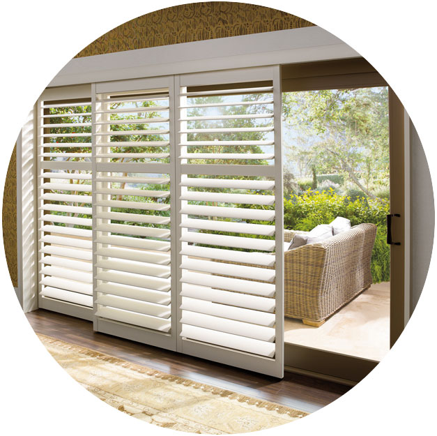 Patio amp Sliding Glass Door Window Treatments Hunter Douglas