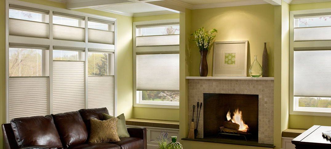 Hunter Douglas | Energy-efficient Duette honeycomb shades