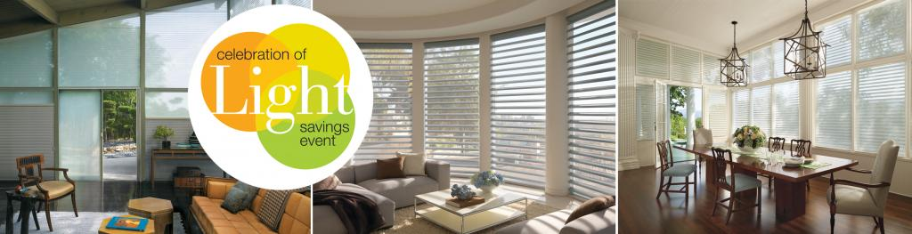 Hunter Douglas Celebration of Light Sale