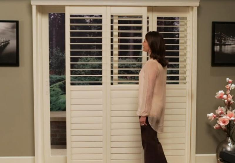 Newstyle Hybrid Shutters Hunter Douglas