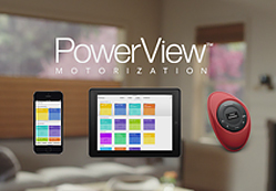 PowerView motorización en miniatura