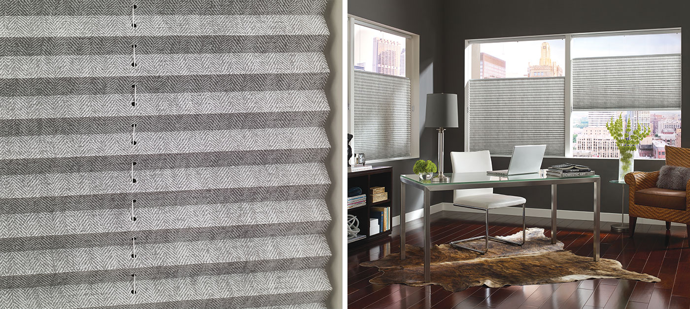 Micro Blinds For Windows Part - 19: Pleated Shades Close-up And Room