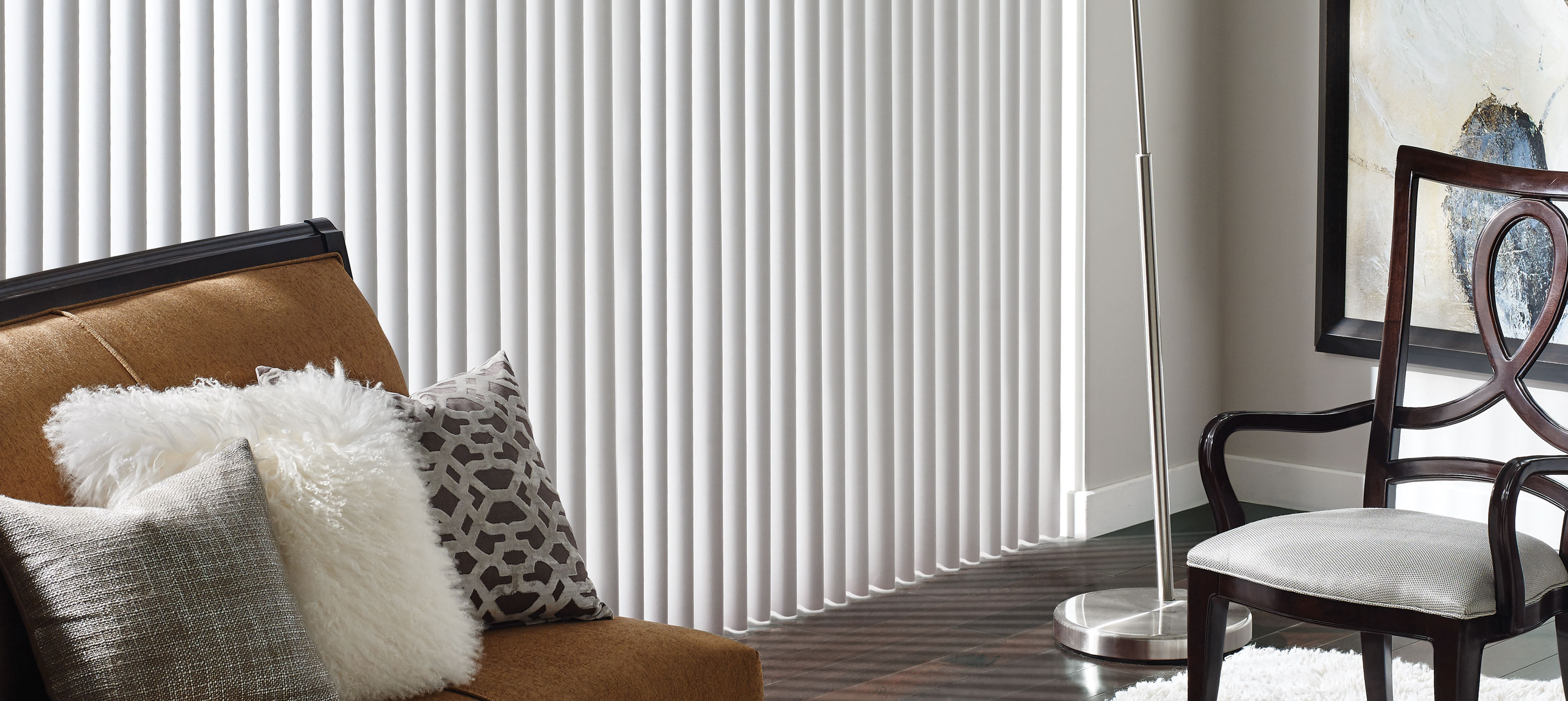 Vertical Blinds | Panel Track Blinds | Vinyl, Fabric  Aluminum