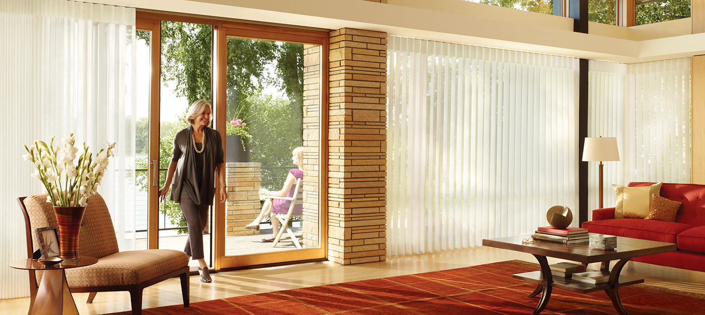 Window Treatment Ideas For Sliding Glass Patio Doors