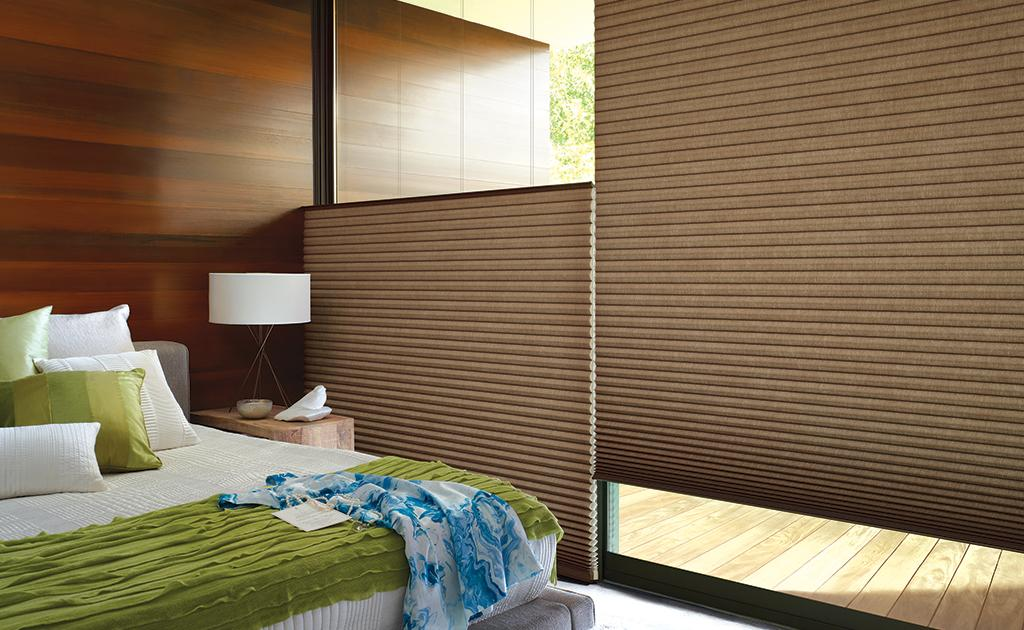 The Alustra® Collection of Duette® Architella® honeycomb shades