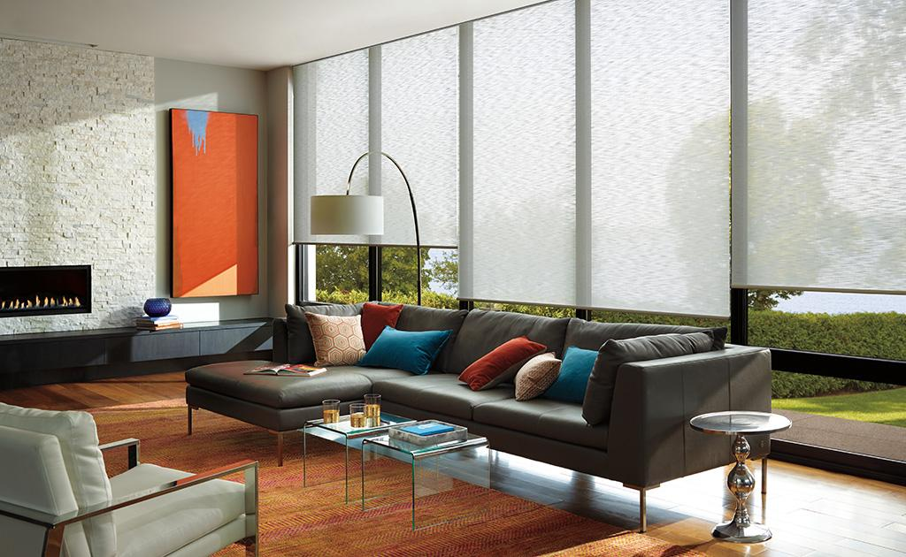 The Alustra Collection of Roller Shades