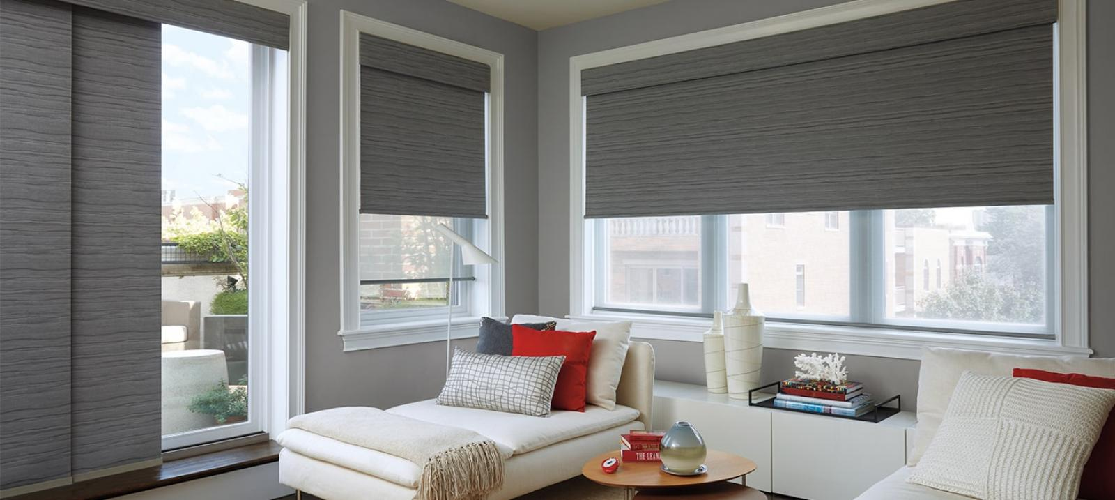 Roller shades santa cruz ca mccarty 39 s window fashions for Hunter douglas motorized blinds