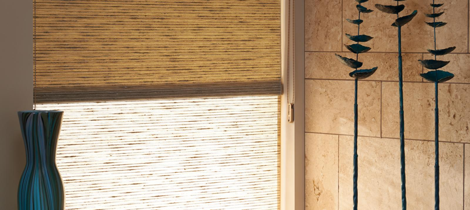 The Alustra Collection of Roller Shades in Branch