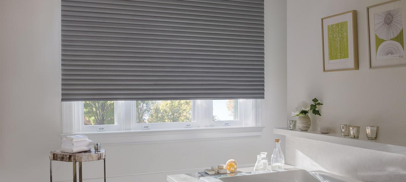 Sonnette Cellular Roller Shades Window Treatments In